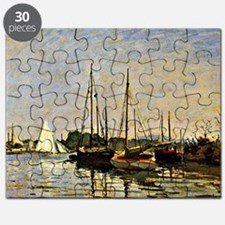 Monet - Pleasure Boats - Argenteuil, 1872 Puzzle