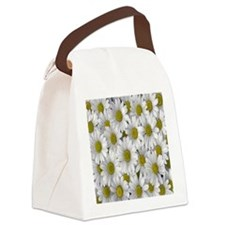 English Daisies Canvas Lunch Bag