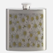 English Daisies Flask