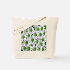 English Green Daisies Tote Bag