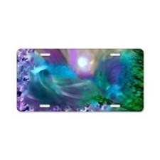 Purple Dream 1 Aluminum License Plate