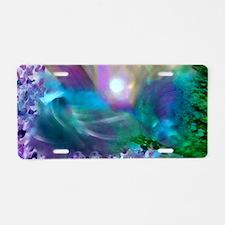 Purple Dream 1 Aluminum License Plate