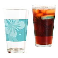 Aqua Mousepad Drinking Glass