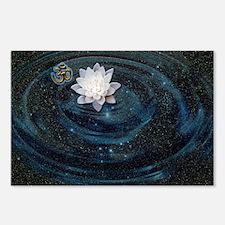 OM Lotus Postcards (Package of 8)