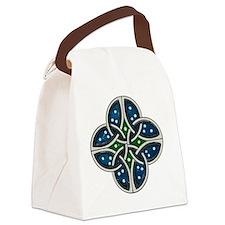 Vintage celtic embellishment 3 Canvas Lunch Bag