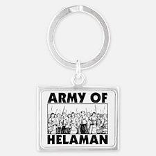 Army of Helaman Landscape Keychain