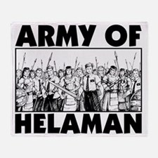 Army of Helaman Throw Blanket