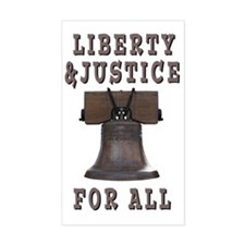 Liberty Bell with Liberty and  Decal