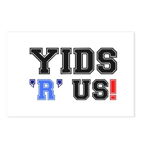 YIDS R US! Postcards (Package of 8)