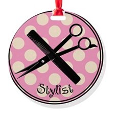 stylist pendant 2013 pink Ornament