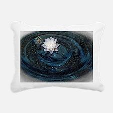 OM Lotus Rectangular Canvas Pillow