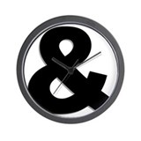 Ampersand Wall Clocks