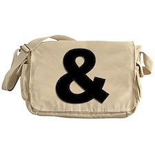 Ampersand Messenger Bag