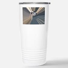 SALUKI 2 - TUNNEL HEAD Stainless Steel Travel Mug