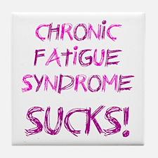 Chronic Fatigue Syndrome Tile Coaster