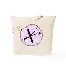 stylist 1 round pink Tote Bag