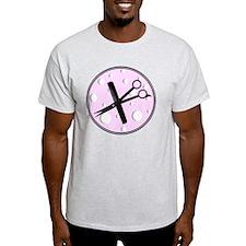 stylist 1 round pink T-Shirt