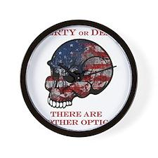 Liberty or Death Wall Clock