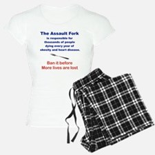 THE ASSAULT FORK... pajamas
