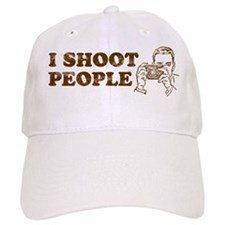 I Shoot People Baseball Baseball Cap