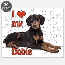 I heart my Doberman Puzzle