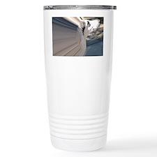 SALUKI 1 - TUNNEL Travel Coffee Mug