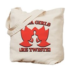 Yoga Girls are Twisted Tote Bag