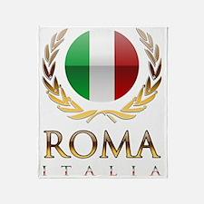 Roman design Throw Blanket