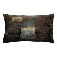 ANTIQUE steamer TRUNK Pillow Case