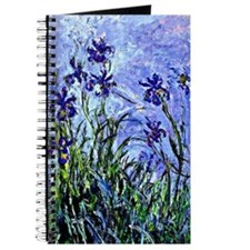 Monet - Lilacs and Irises, Floral painting Journal