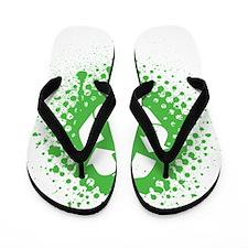 Recycle Grunge Flip Flops