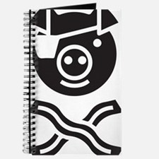 Funny Pirate and Bacon Journal