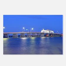 Woods Memorial Bridge (at Postcards (Package of 8)
