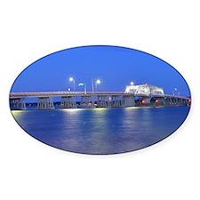 Woods Memorial Bridge (at night) Decal