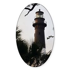 Hunting Island Lighthouse Decal
