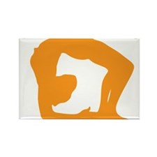 Yoga Girls are Twisted Rectangle Magnet