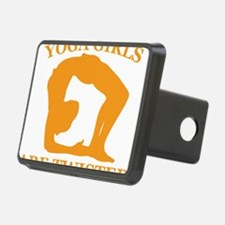 Yoga Girls are Twisted Hitch Cover