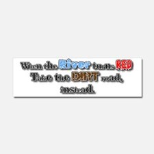 Red river Car Magnet 10 x 3