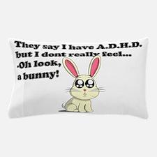 ADHD bunny Pillow Case