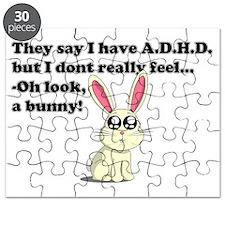 ADHD bunny Puzzle