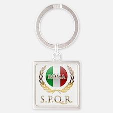 Rome Square Keychain