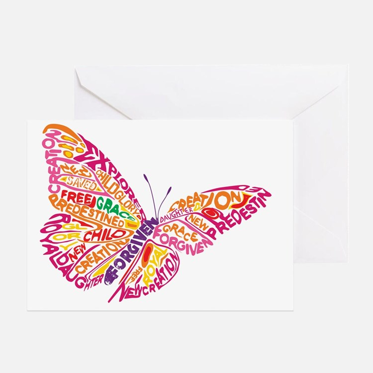 Flying by Grace Greeting Card