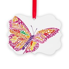 Flying by Grace Ornament