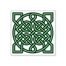 "Celtic Knot Square Sticker 3"" x 3"""