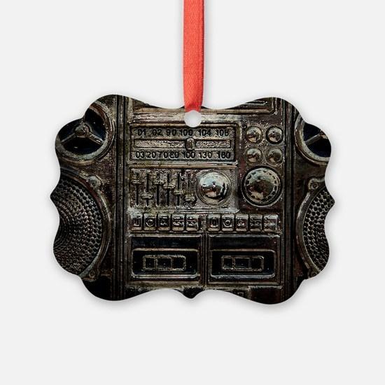 RETRO BOOMBOX Ornament