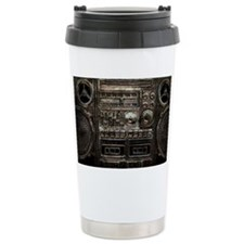 RETRO BOOMBOX Travel Coffee Mug