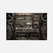 RETRO BOOMBOX Rectangle Magnet