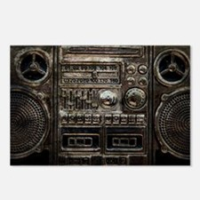 RETRO BOOMBOX Postcards (Package of 8)