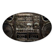RETRO BOOMBOX Decal
