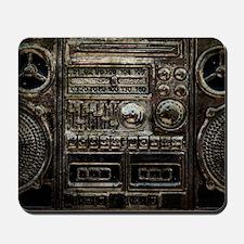 RETRO BOOMBOX Mousepad